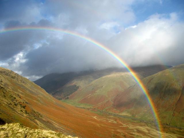 Rainbow Over Helvellyn