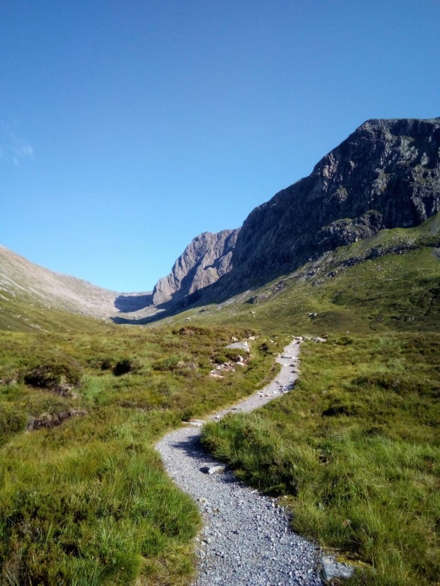 Coire Leis and the north side of Ben Nevis