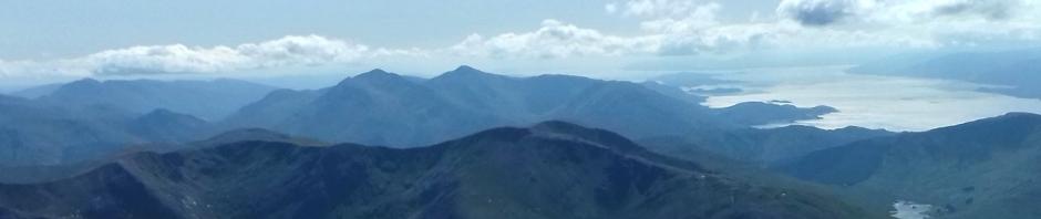 Ben Nevis summit panorama
