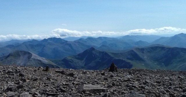 A clear day on Ben Nevis